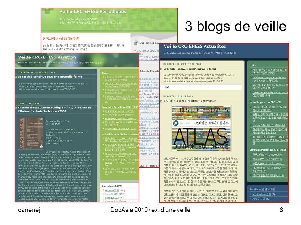 carrenejDocAsie 2010 / ex. d évolution19 Web des experts