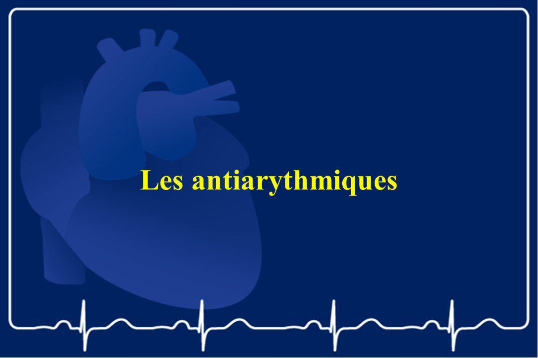 Les antiarythmiques