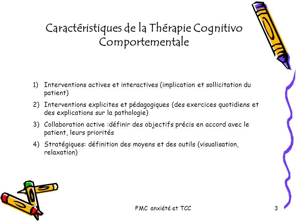 FMC anxiété et TCC4 Quand intervenir .