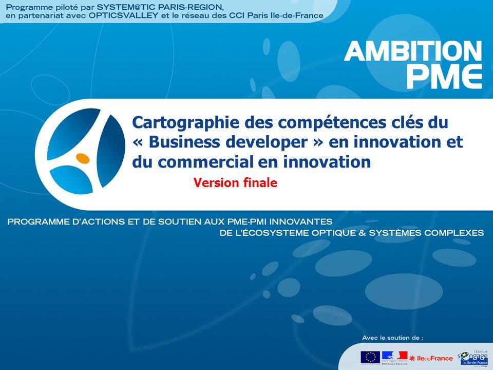 2 « Si linnovation constitue un facteur essentiel de compétitivité économique, elle ne saurait être réduite à la recherche et aux brevets.