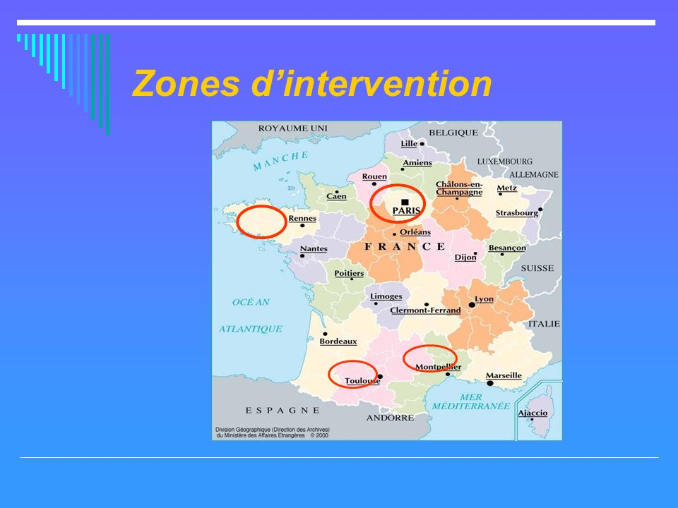 Zones dintervention