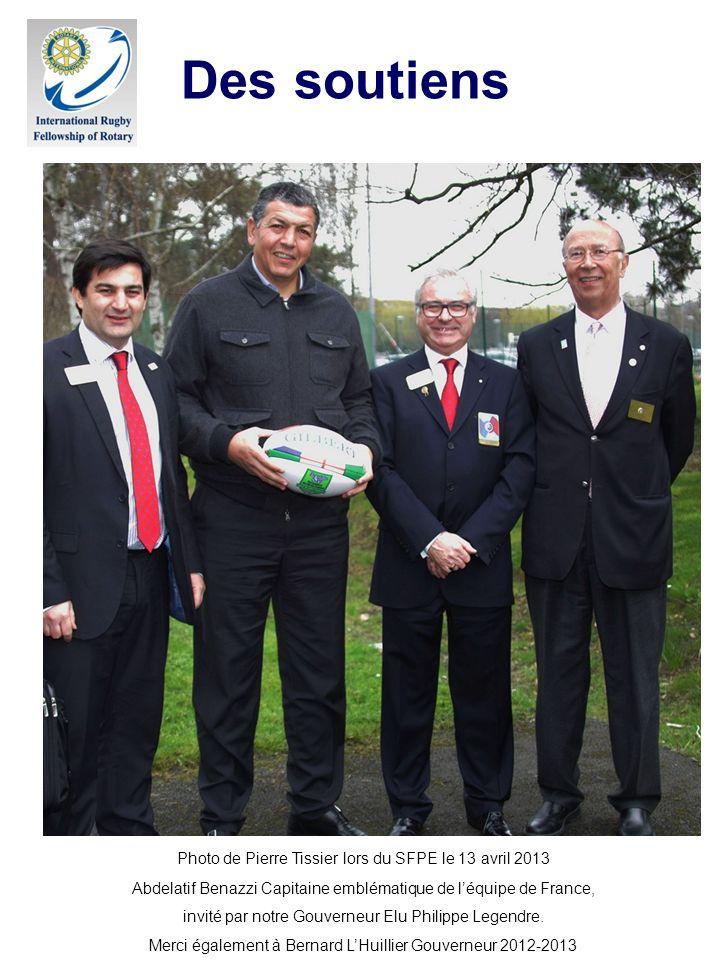 Le projet -Partager les valeurs rotariennes et rugbystiques et devenir une amicale du Rotary en fédérant l expérience des rotariens et la jeunesse des rotaractiens.