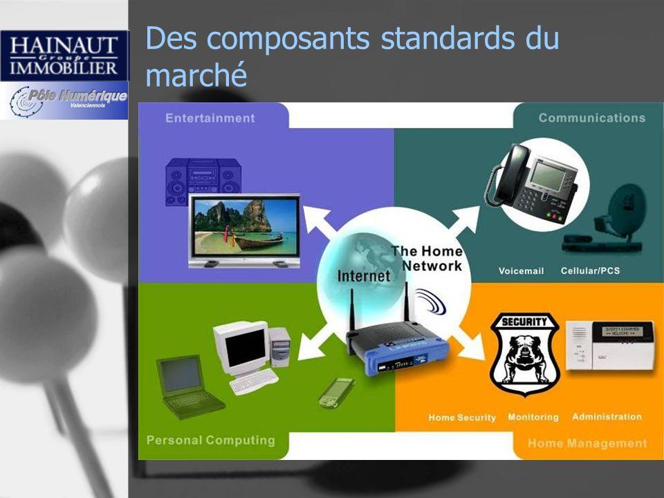 Des composants standards du marché