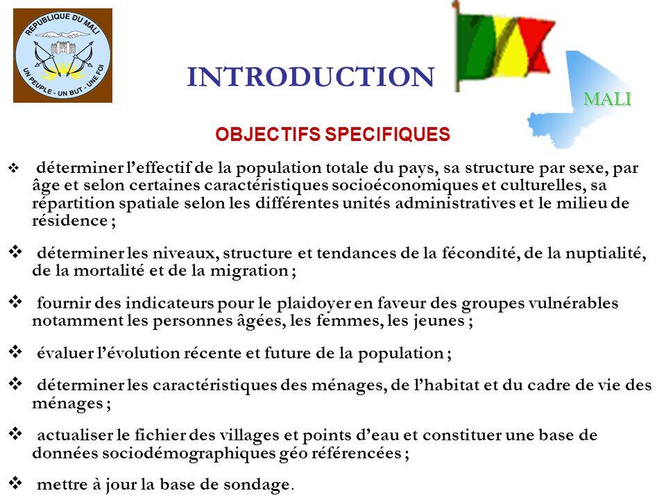 EXPERIENCES MALIENNE EN MATIERE DE DIFFUSION Le 1 er Recensement (RGP) du Mali a eu lieu en 1976 et nous a permis davoir une population de 6 394 818 habitants Le 2 ème Recensement (RGPH) du Mali a eu lieu en 1987 et nous a permis davoir une population de 7 696 348 habitants.