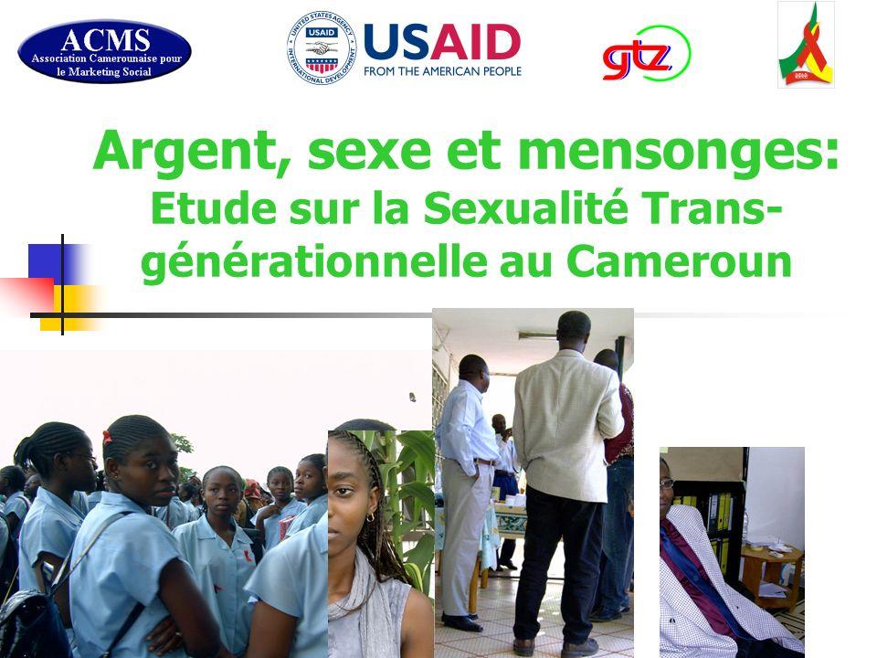 Argent, sexe et mensonges: Etude sur la Sexualité Trans- générationnelle au Cameroun