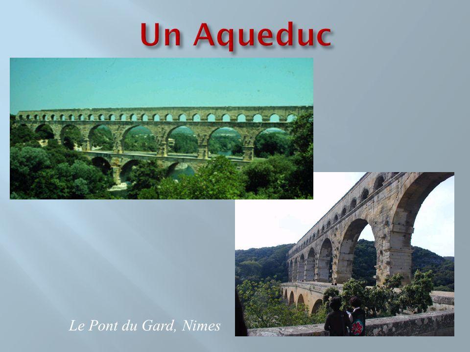 Le Pont du Gard, Nimes