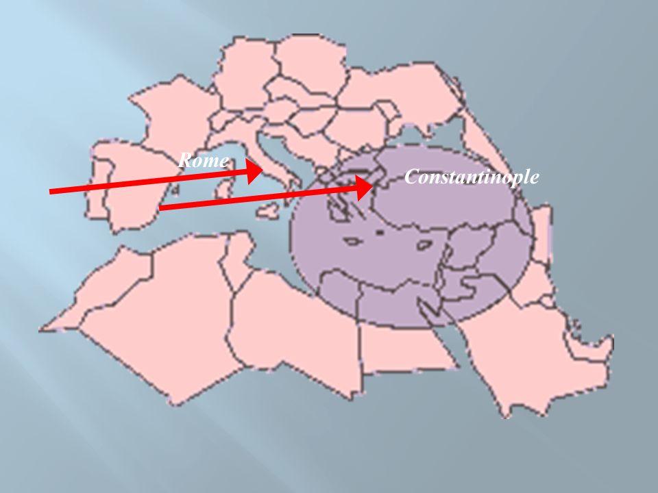 Constantinople Rome