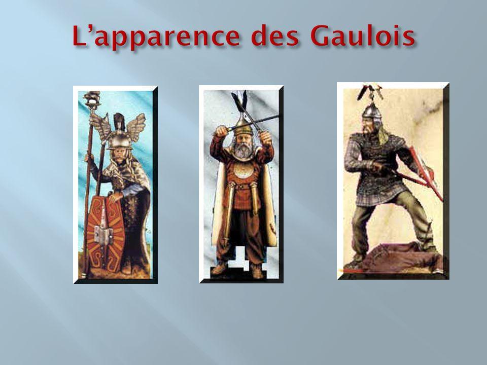 Les Gaulois étaient des guerriers braves.