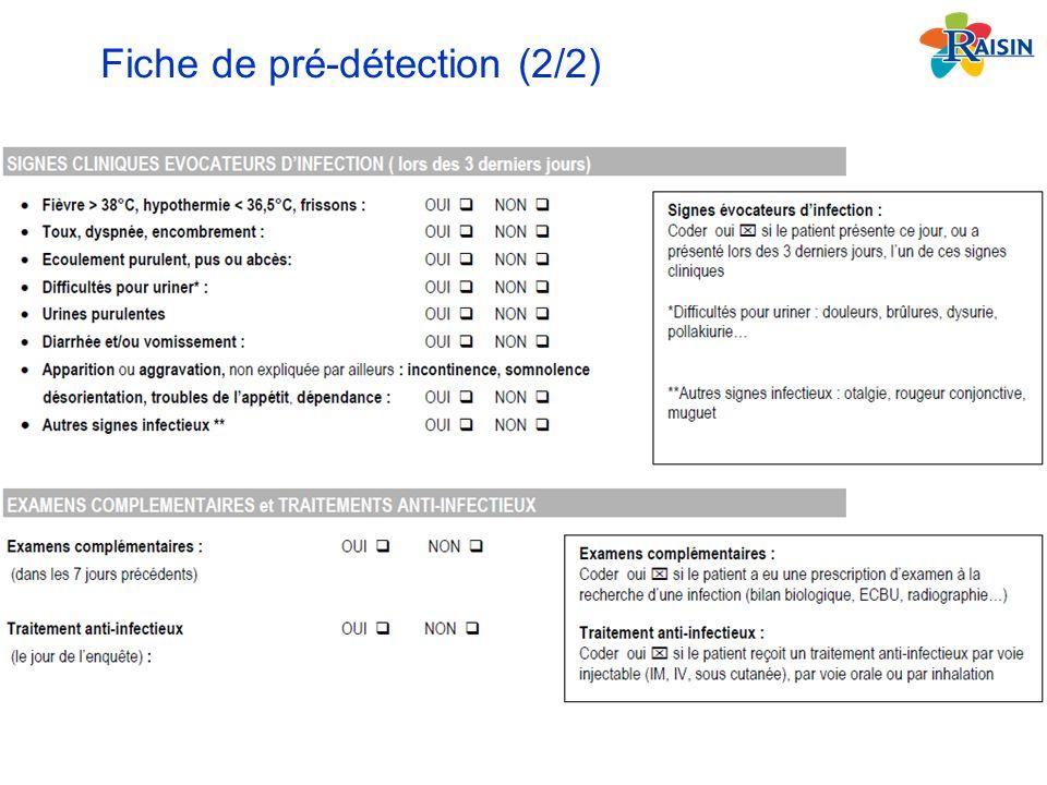 Fiche de pré-détection (2/2)