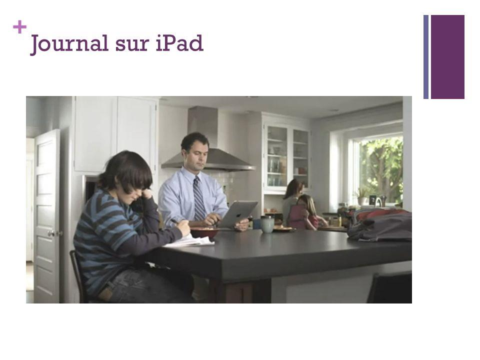+ Journal sur iPad