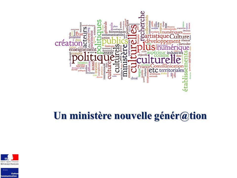 Un ministère nouvelle génér@tion