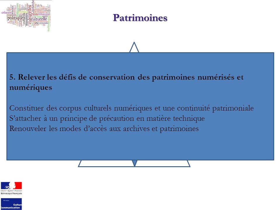 Patrimoines 5.