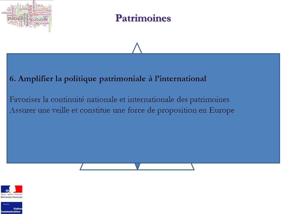 Patrimoines 6.