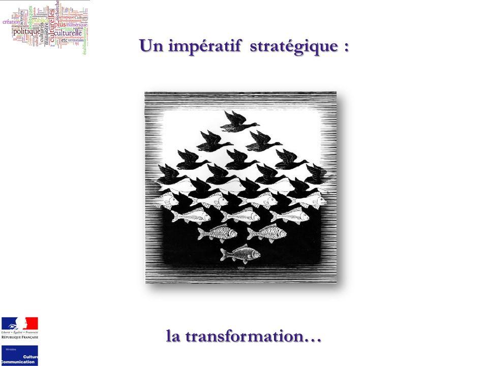 Un impératif stratégique : la transformation…