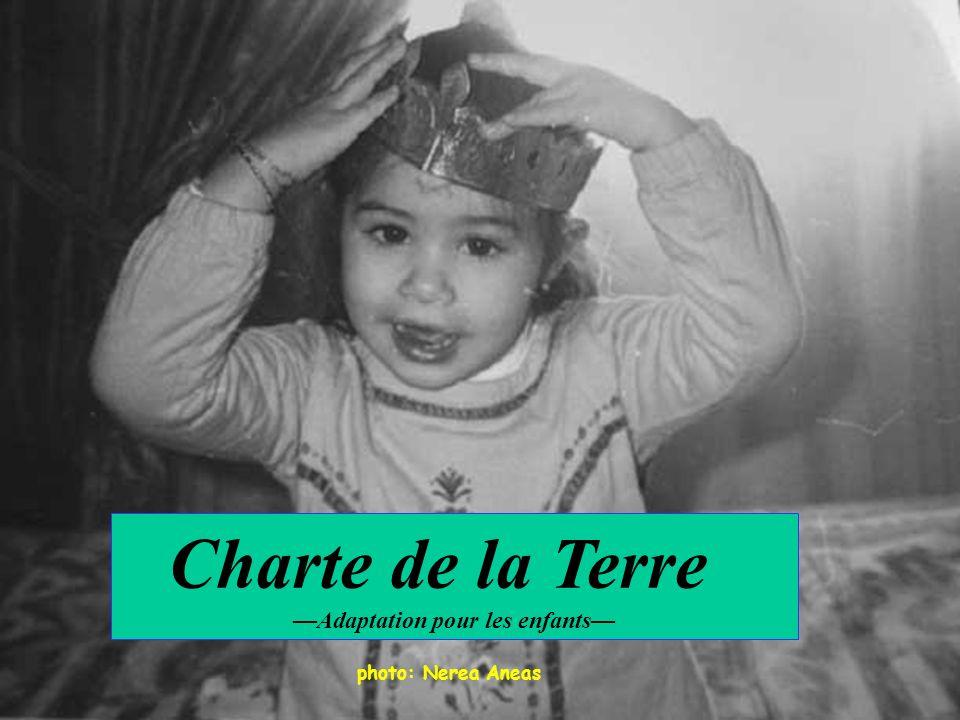 Charte de la Terre Adaptation pour les enfants photo: Nerea Aneas