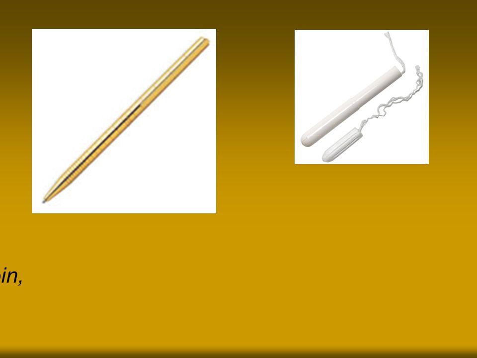 Voilà, ton beau stylo doré s'appelle