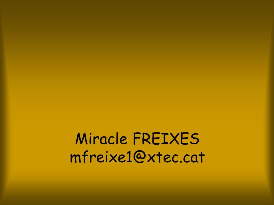 Miracle FREIXES mfreixe1@xtec.cat