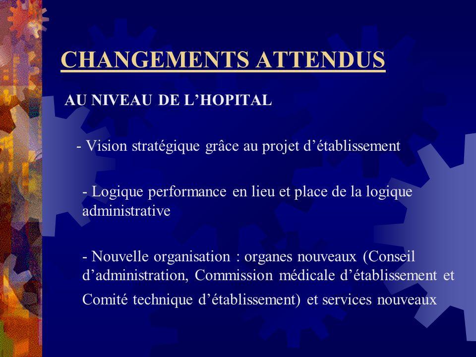 Des textes restant à élaborer Des Arrêtés : - Larrêté relatif aux modalités de prise en charge du personnel de santé dans les EPS - Larrêté interminis