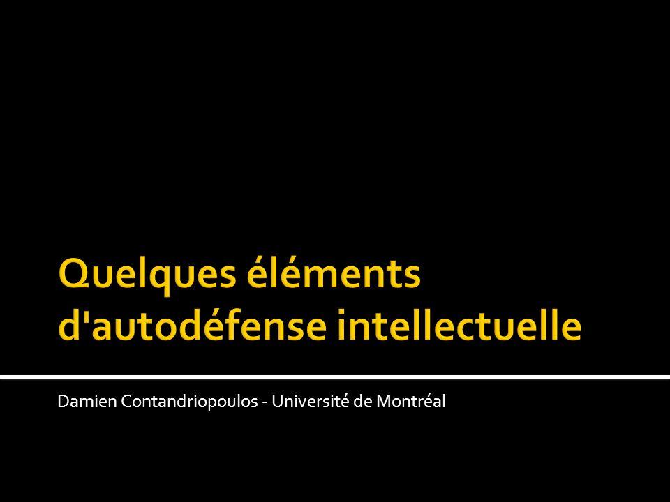 Damien Contandriopoulos - Université de Montréal