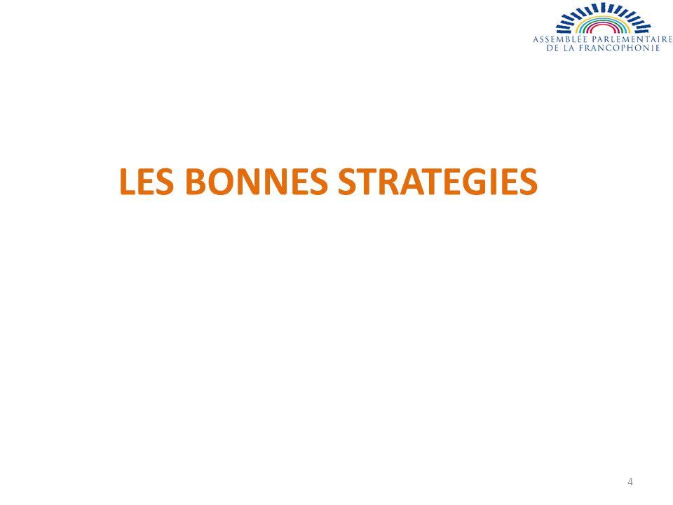 LES BONNES STRATEGIES 4