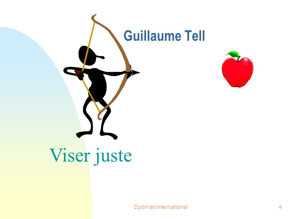Optimist International4 Viser juste Guillaume Tell