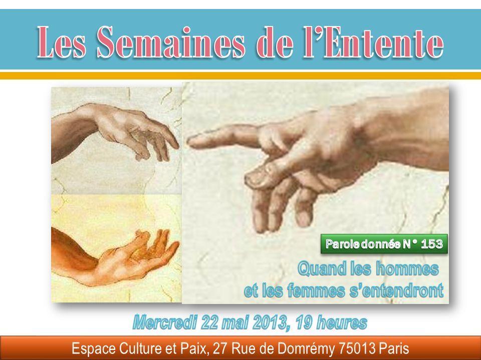 Espace Culture et Paix, 27 Rue de Domrémy 75013 Paris