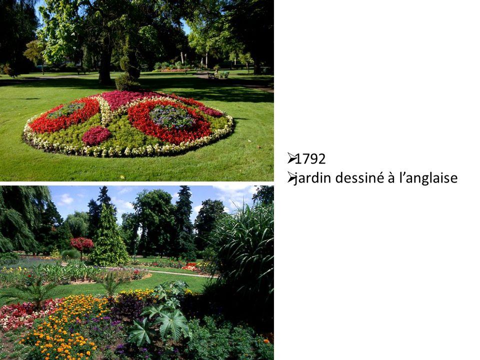 1792 jardin dessiné à langlaise