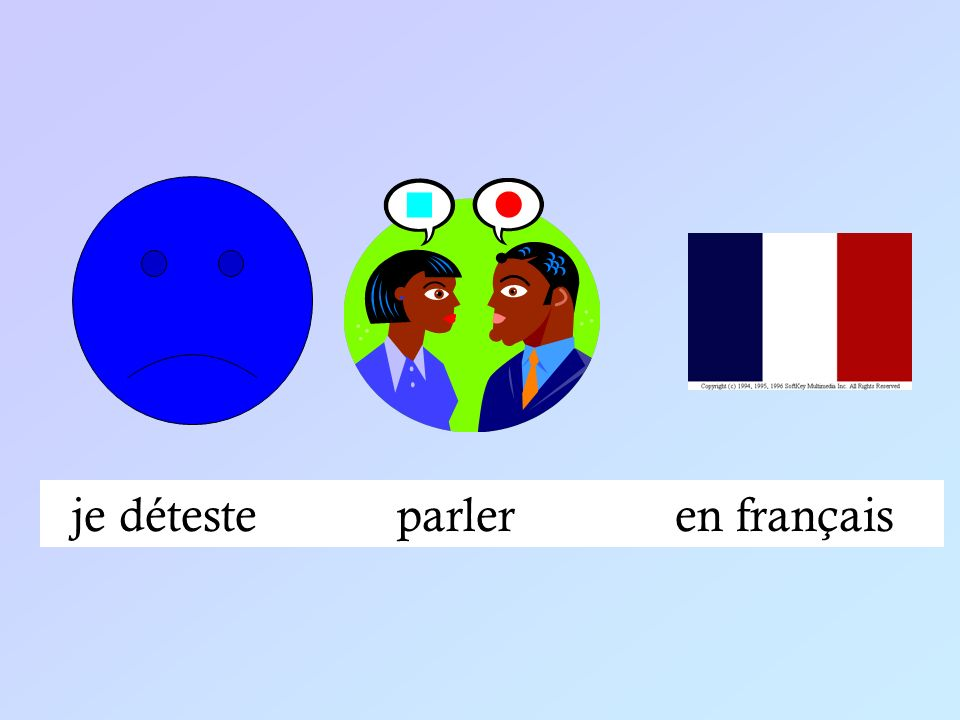 je détesteparleren français
