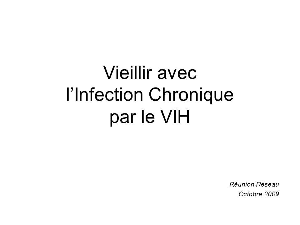 Vieillir avec lInfection Chronique par le VIH Réunion Réseau Octobre 2009