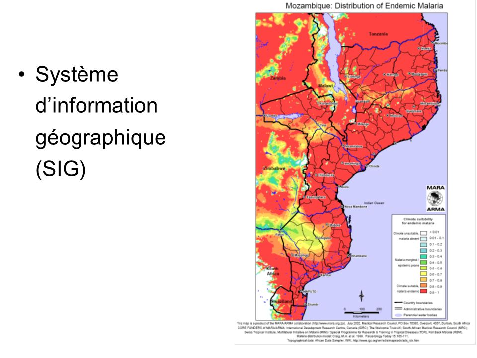 Système dinformation géographique (SIG)