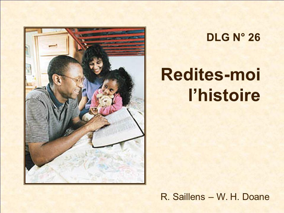 R. Saillens – W. H. Doane DLG N° 26 Redites-moi lhistoire