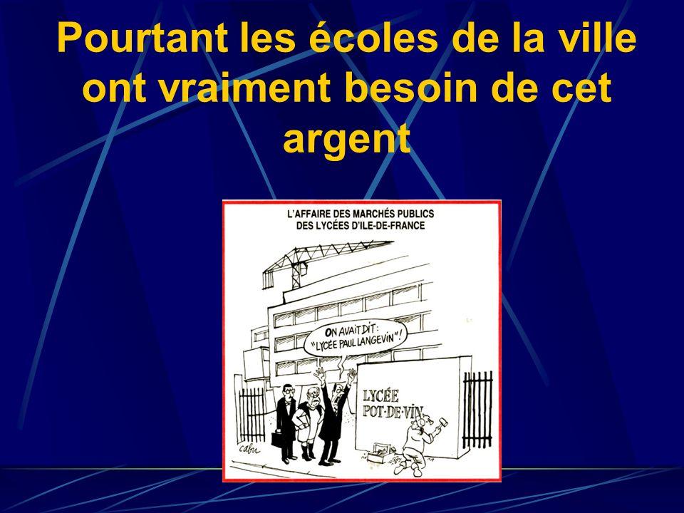 Mme Badot, de la justice, dans La Nouvelle Gazette du 24/10/06 « Certains travaux étaient imputés au budget dun département alors quils étaient effect