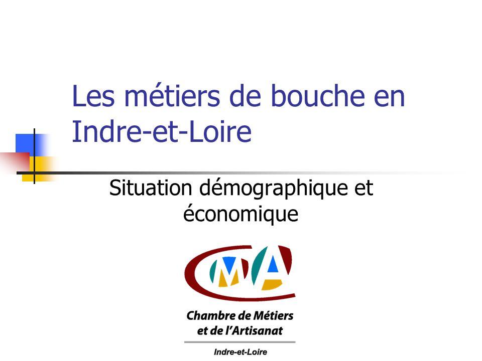 Les métiers de bouche en Indre-et-Loire Situation démographique et économique