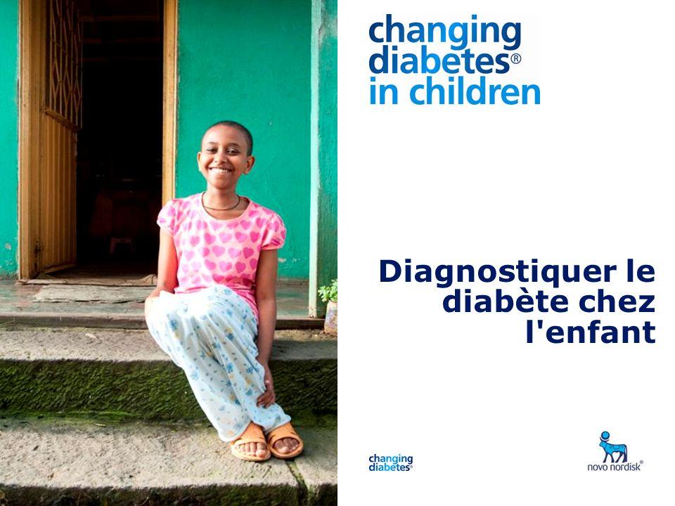 Presentation title Diagnostiquer le diabète chez l'enfant