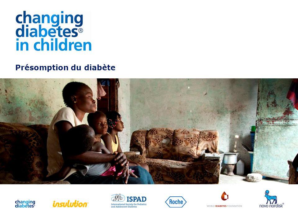 Presentation title Présomption du diabète