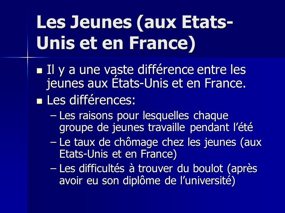 Le chômage en France En France, le chômage devient rapidement une épidémie. Le taux de chômage est 8,8% En France, le chômage devient rapidement une é