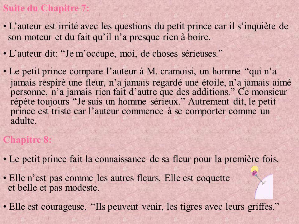 Suite du Chapitre 22: Le petit prince remarque que les voyageurs sont bien pressés (comme des adultes).