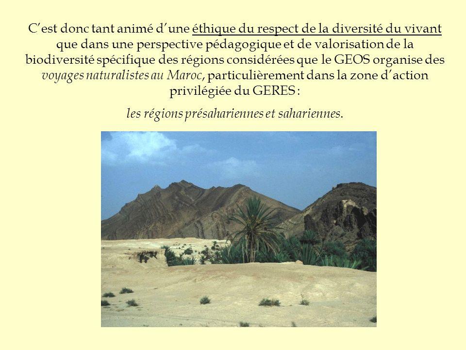 Cest donc tant animé dune éthique du respect de la diversité du vivant que dans une perspective pédagogique et de valorisation de la biodiversité spéc