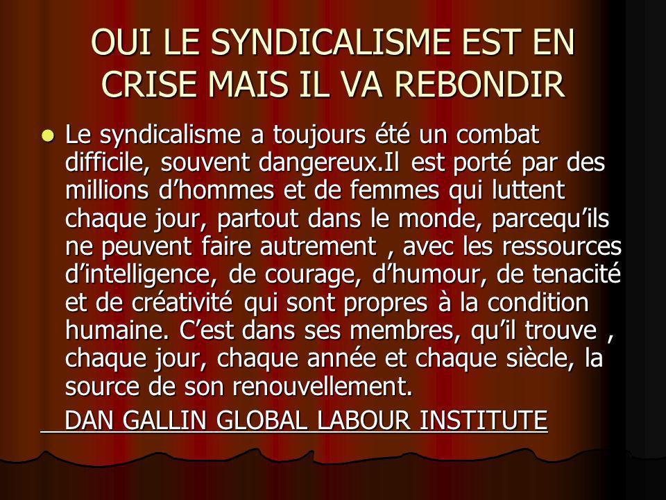 LA REORGANISATION SYNDICALE : lexpérience du SUTTAAAS Situation avant disparition Air Afrique Situation avant disparition Air Afrique 1.