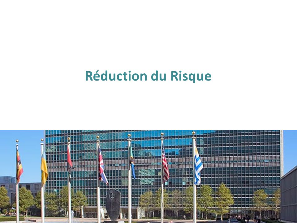 Réduction du Risque
