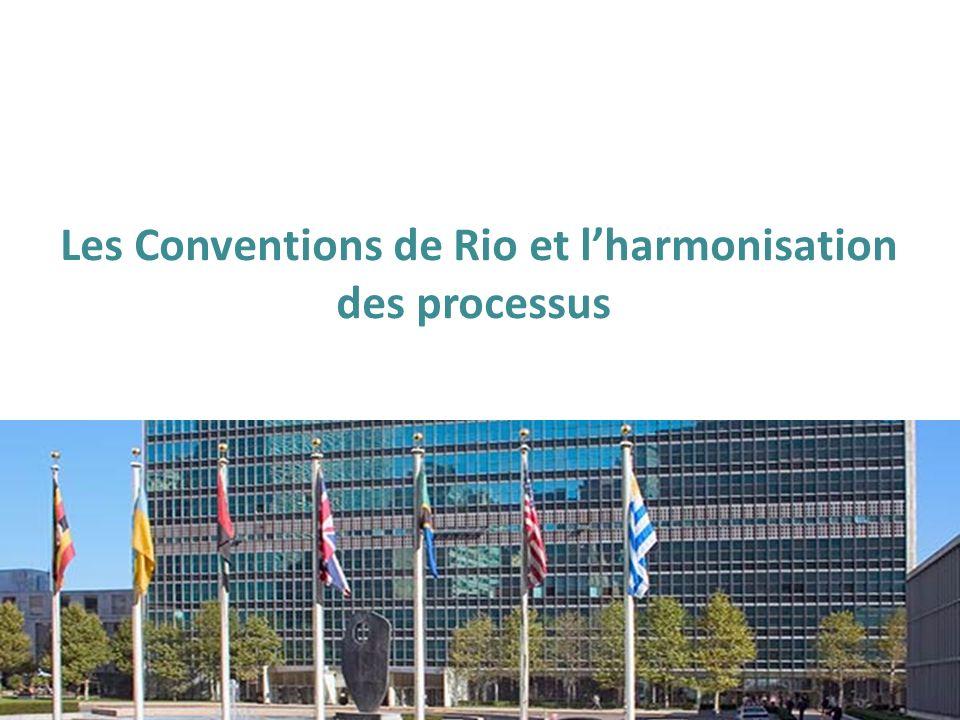Les Conventions de Rio et lharmonisation des processus