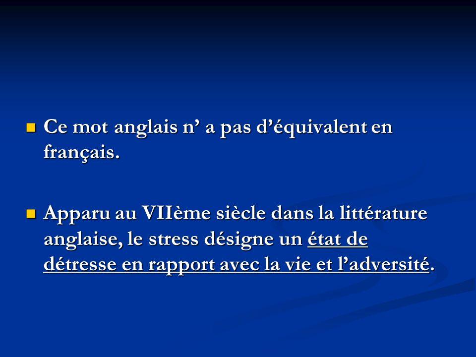 Ce mot anglais n a pas déquivalent en français. Ce mot anglais n a pas déquivalent en français. Apparu au VIIème siècle dans la littérature anglaise,