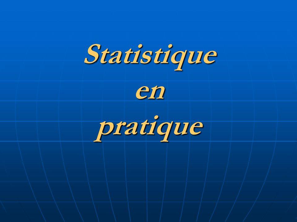 Statistiqueenpratique