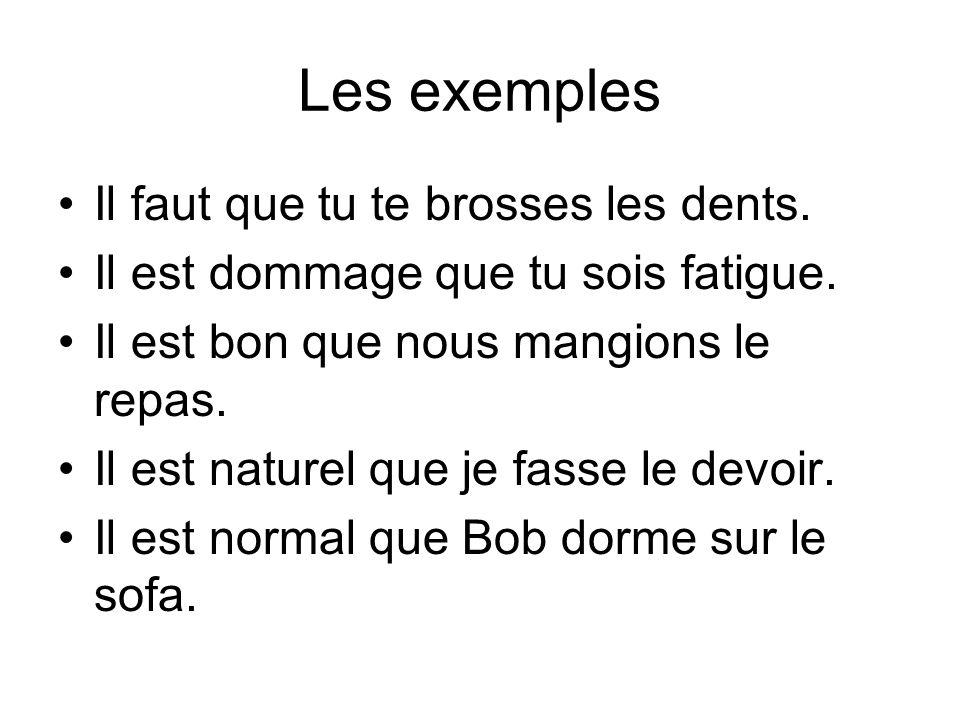Conjunction + subj. Pour que Avant que Bien que Afin que Quoique (though) Autant que (as much as)