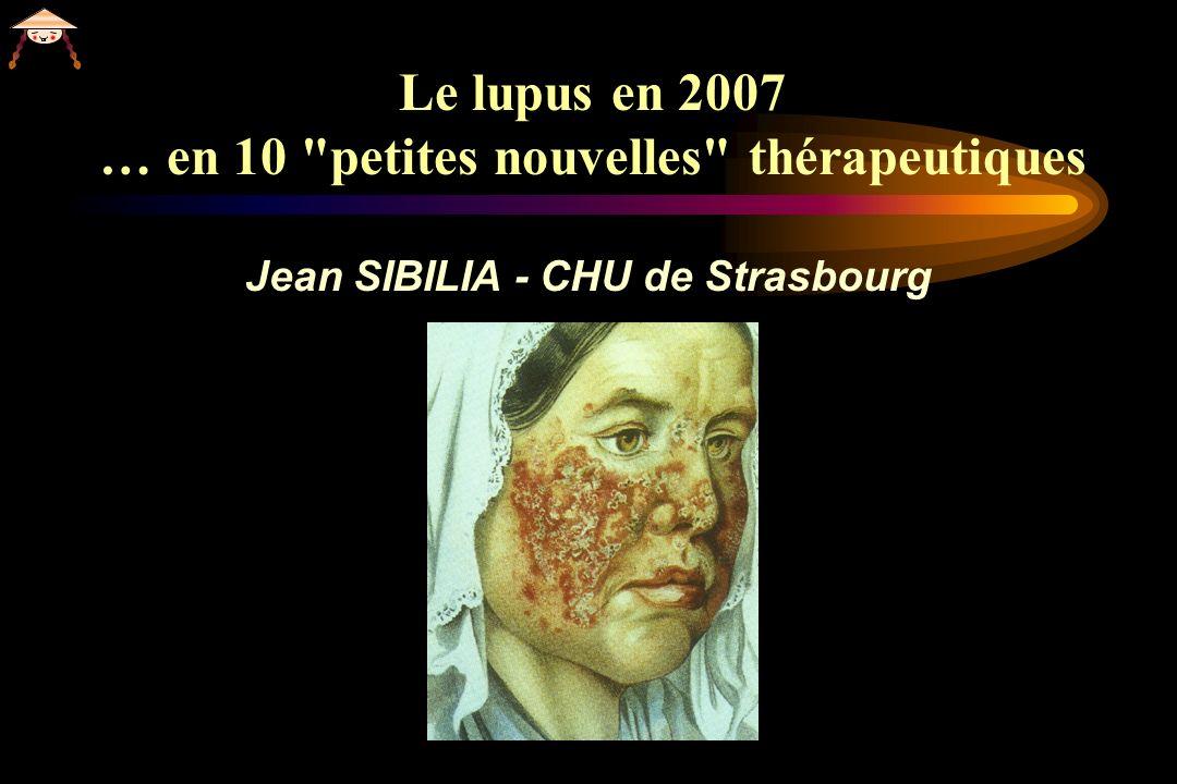 Le lupus en 2007 … en 10