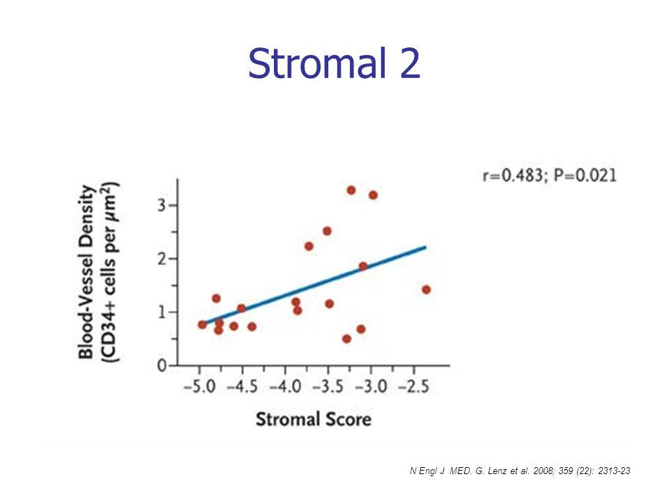 Stromal 2 N Engl J MED. G. Lenz et al. 2008; 359 (22): 2313-23