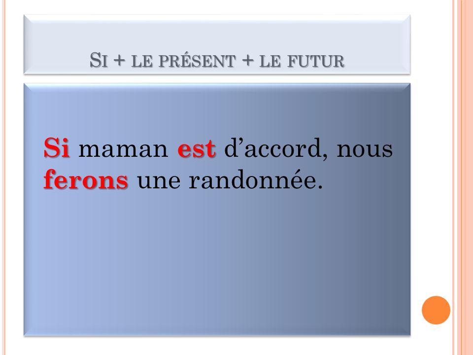 L IMPARFAIT FORMATION Pour former limparfait, on ajoute les terminaisons: NOUS au radical de la forme NOUS du présent de lindicatif.