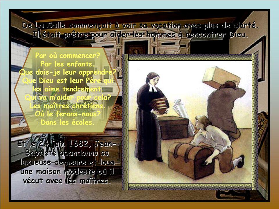 Face à lopposition des gens de sa famille, Jean-Baptiste ne voulait pas décevoir Dieu. Pour lui, il était très important de découvrir ce que le Seigne