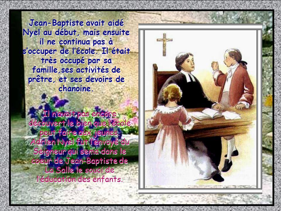 Comme Nyel et son adjoint Christophe étaient de bons maîtres, lécole Saint Maurice se remplit rapidemant de garçons, qui venaient avec joie à lécole.