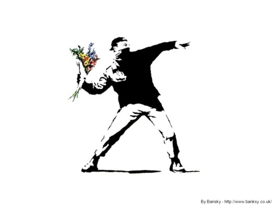 By Bansky - http://www.banksy.co.uk/